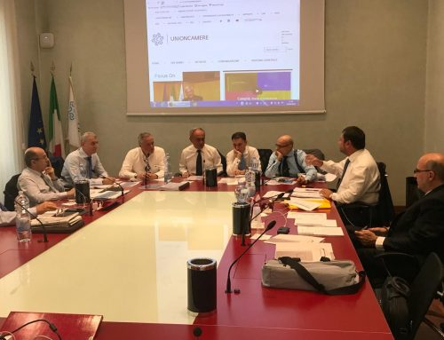 Meeting of the Board of Assocamerestero in Rome