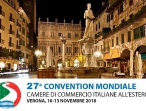 27th Convention of the Italian Chambers of Commerce Abroad