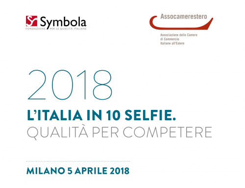"""On April 5, Assocamerestero presented in Milan his project that promote Italy in """"10 selfie"""""""