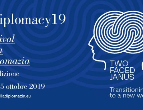 "#Diplomacy19 – ""Press Conference for the Presentation of the 10th Edition of the Diplomacy Festival"" on Wednesday 16 October 2019 in Rome"