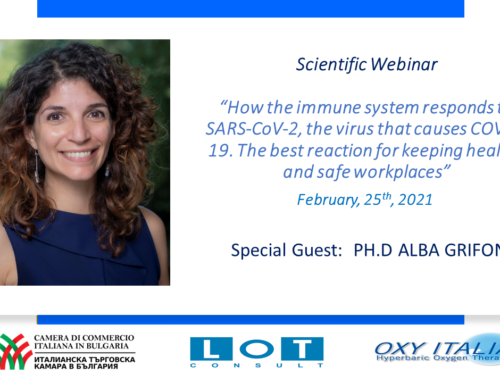 """An important participation in the scientific webinar with the young researcher and winner of the ISSNAF """"Embassy of Italy"""" award Alba Grifoni of 25 February 2021"""