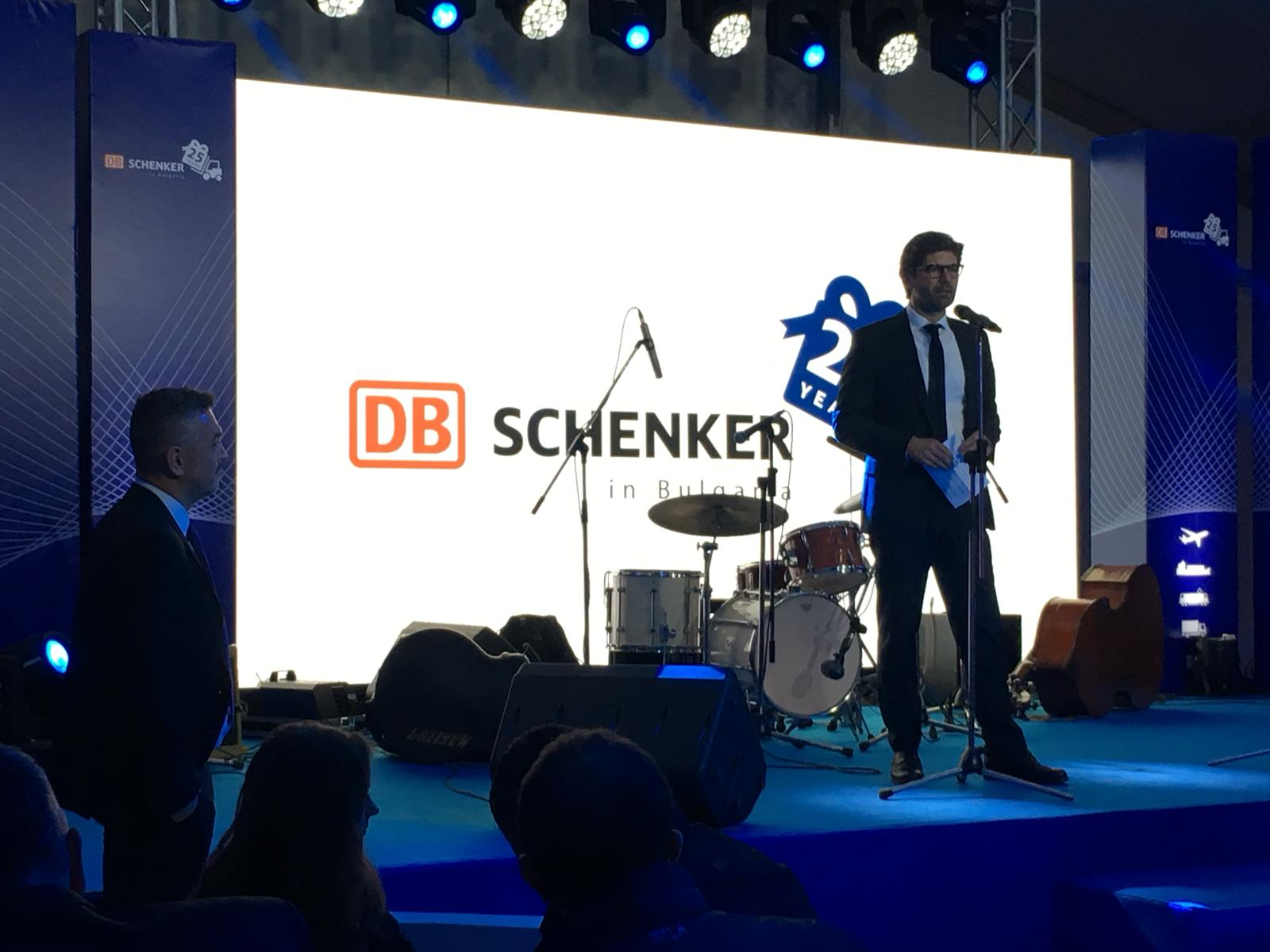 DB Schenker Bulgaria celebrates its 25th anniversary in Sofia: a history of success and achievements